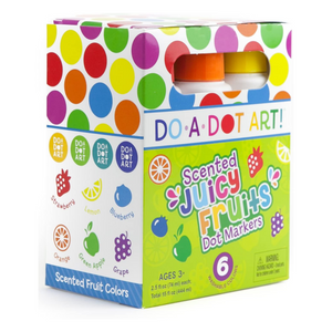 Do-A-Dot Juicy Fruit 6 Pack