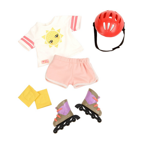 Doll Outfit: Roller Blades