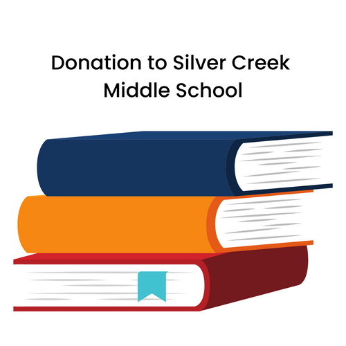Donation to Silver Creek Middle School