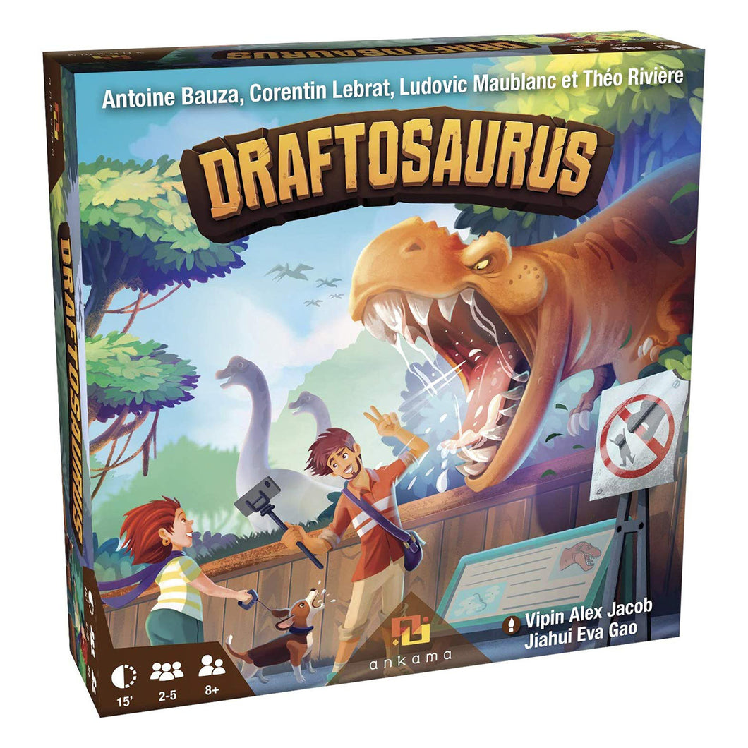 Draftosaurus Packaging
