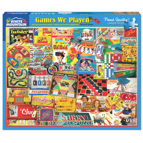 Games We Played 1000-Piece Puzzle