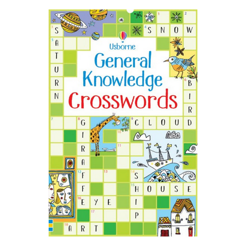 General Knowledge Crosswords - activity book cover