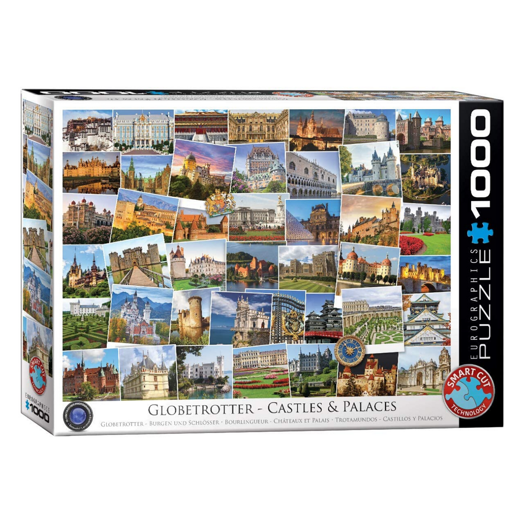Globetrotter Castles and Palaces 1000-Piece Puzzle