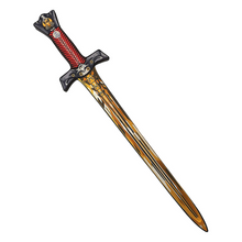 Load image into Gallery viewer, Golden Eagle Knight Sword