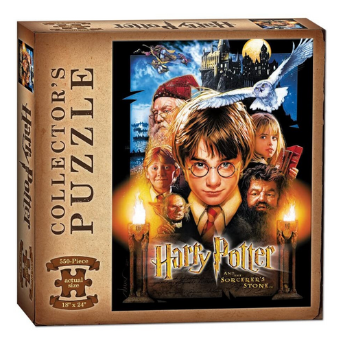Harry Potter & The Sorcerer's Stone 550-Piece Puzzle