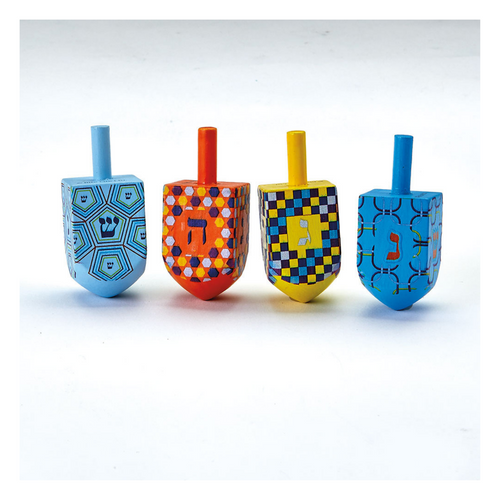 Jumbo Painted Dreidel