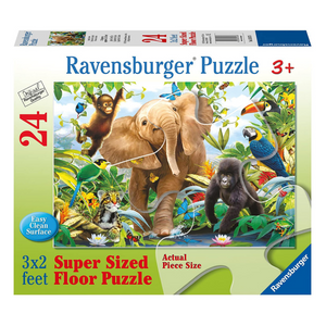 Jungle Juniors 24-Piece Floor Puzzle