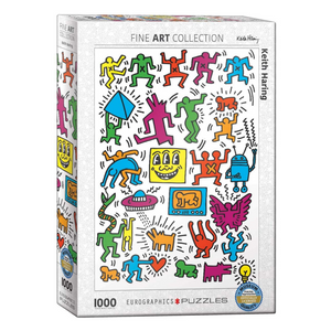 Keith Haring Collage 1000-Piece Puzzle