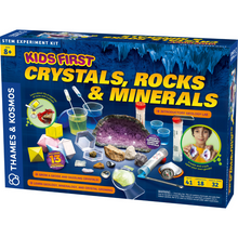 Load image into Gallery viewer, Kids First Crystal, Rocks & Minerals