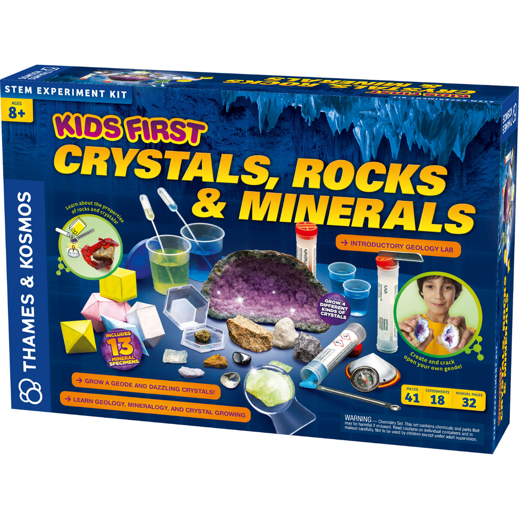 Kids First Crystal, Rocks & Minerals