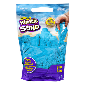 Kinetic Sand 2lb Box Blue