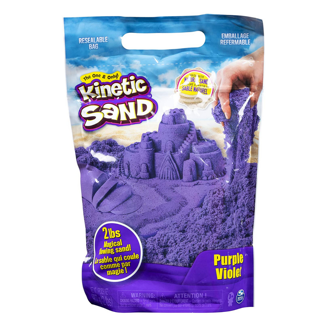 Kinetic Sand 2lb Box Purple