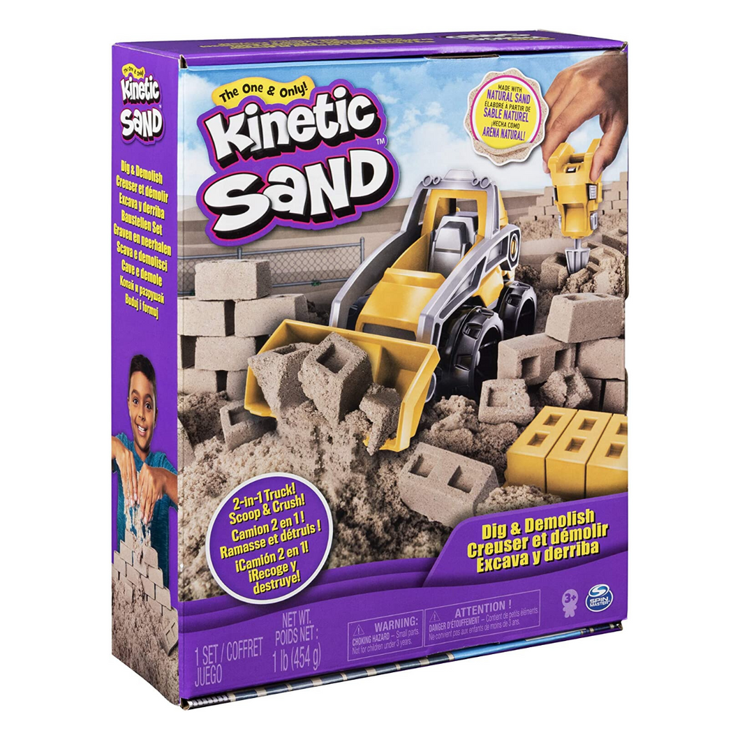 Kinetic Sand Dig & Demolish