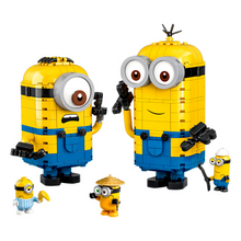 Load image into Gallery viewer, LEGO Brick-Built Minions and Their Lair