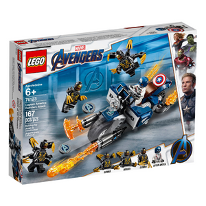 LEGO Captain America: Outriders Attack