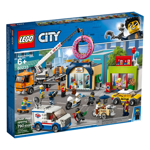 LEGO City Donut Shop Opening