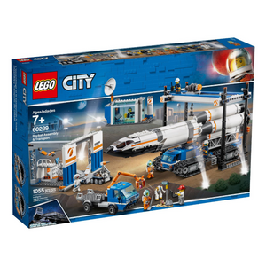 LEGO City Rocket Assembly & Transport