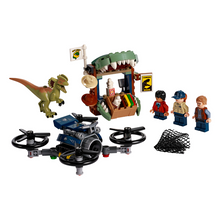 Load image into Gallery viewer, LEGO Jurassic World Dilophosaurus on The Loose
