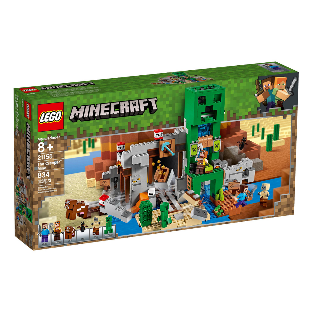 LEGO Minecraft The Creeper™ Mine