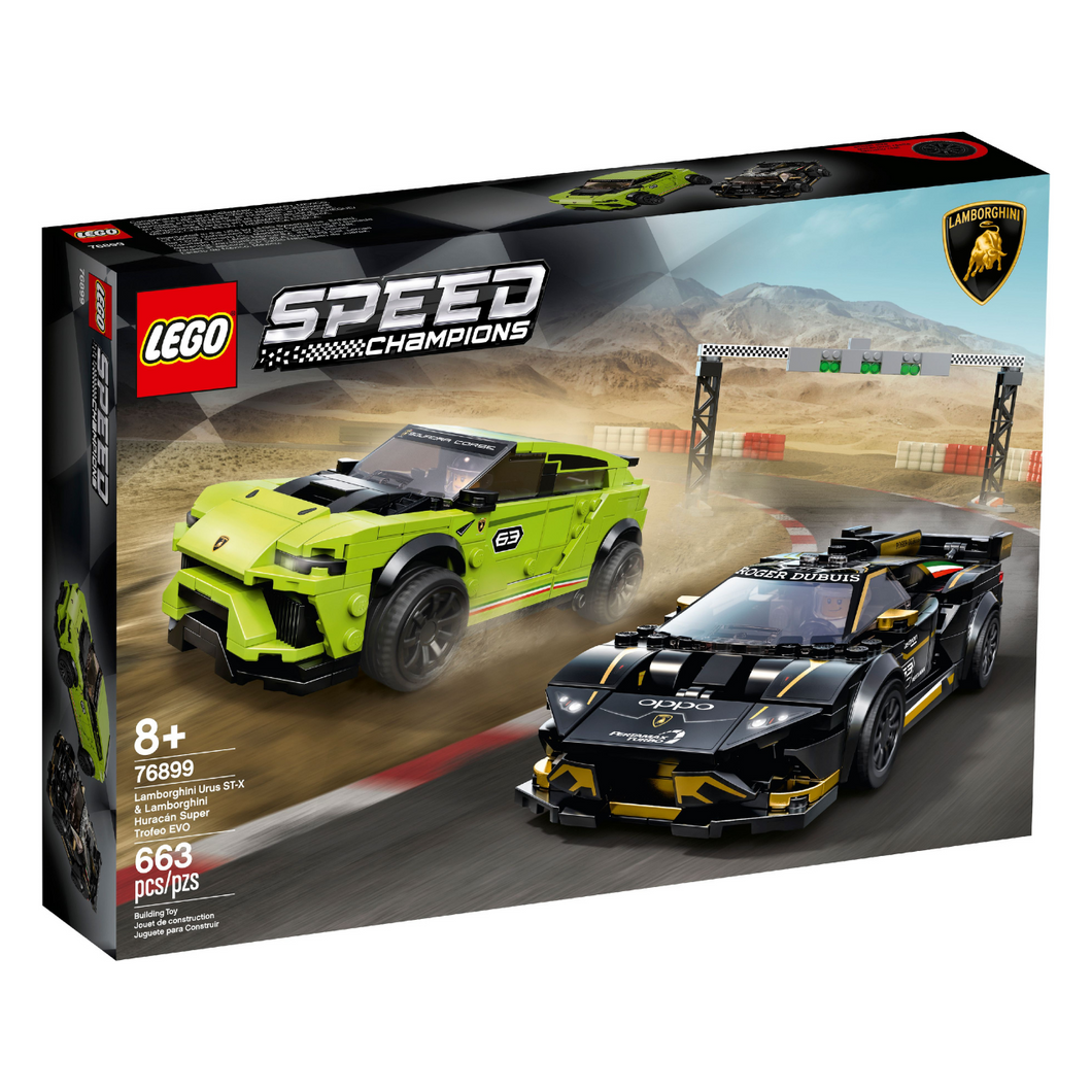 LEGO Speed Champions Lamborghini Racing Set