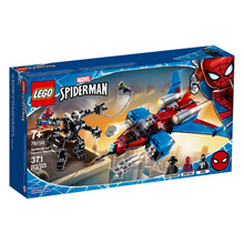 Load image into Gallery viewer, LEGO Spider-Jet vs Venom Mech