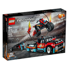 Load image into Gallery viewer, LEGO Technic Stunt Show Truck & Bike