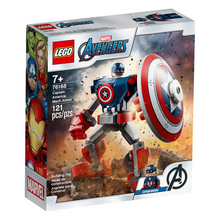 Load image into Gallery viewer, LEGO Avengers Captain America Mech Armor