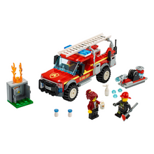 Load image into Gallery viewer, LEGO City Fire Chief Response Truck