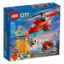 Load image into Gallery viewer, LEGO City Fire Rescue Helicopter