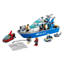 Load image into Gallery viewer, LEGO City Police Patrol Boat