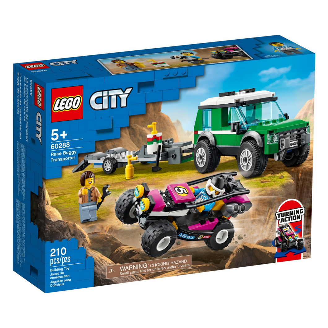 LEGO City Race Buggy Transporter