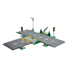 Load image into Gallery viewer, LEGO City Road Plates