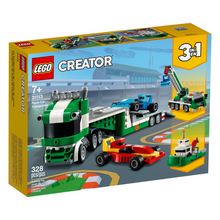 Load image into Gallery viewer, LEGO Creator Race Car Transporter