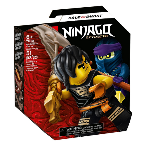 LEGO Ninjago Epic Battle Set - Cole vs. Ghost Warrior