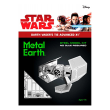 Load image into Gallery viewer, Darth Vader's Tie Fighter Metal Model Kit