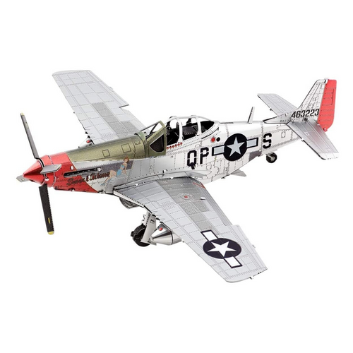 P-51D Mustang Metal Model Kit (in Color)