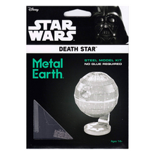 Load image into Gallery viewer, Death Star Metal Model Kit
