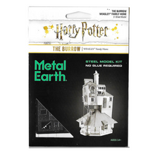 Load image into Gallery viewer, Harry Potter The Burrow Metal Model Kit