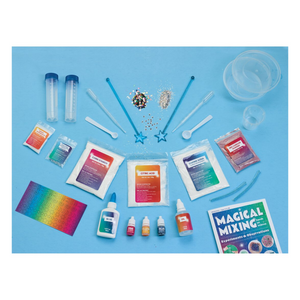 Magical Mixing Slime Kit components