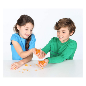 Kids playing with Magical Mixing Slime