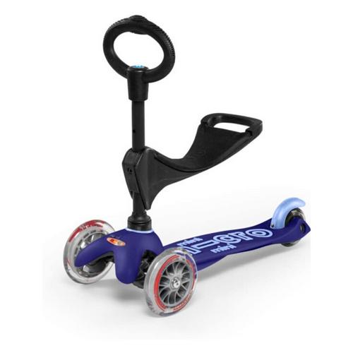 Micro 3 in 1 Mini Scooter Blue