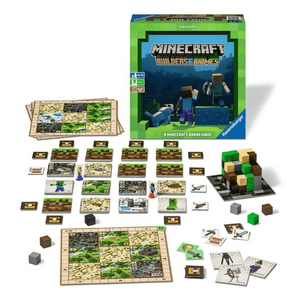 Minecraft Builders & Biomes game components