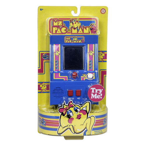 Ms. Pac-Man Retro Mini Arcade Game