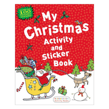 Load image into Gallery viewer, My Christmas Activity and Sticker Book
