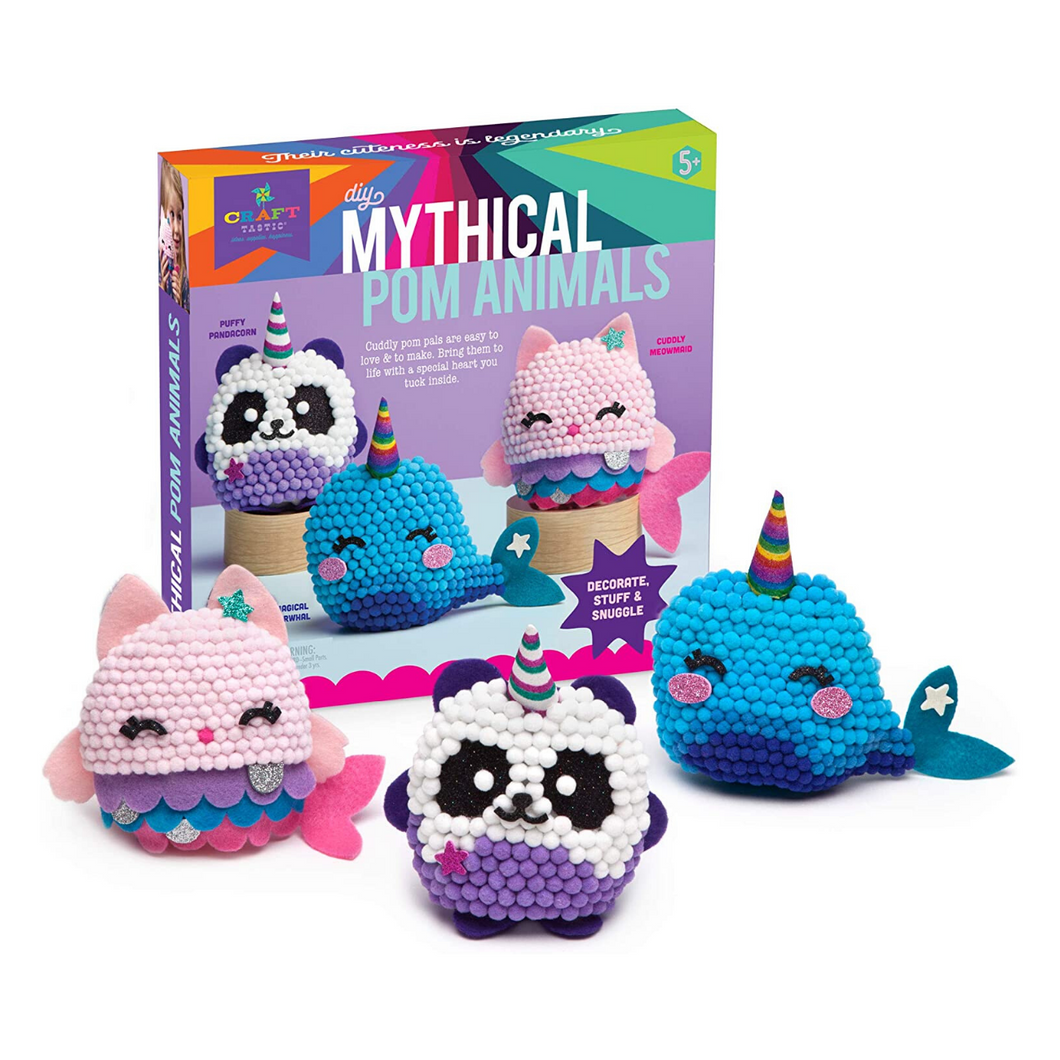 DIY Mythical Pom Animals