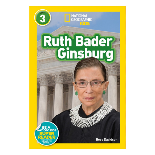 National Geographic Readers: Ruth Bader Ginsburg (L3)