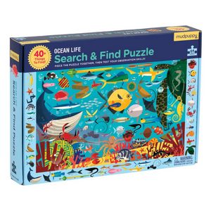 Ocean Life Search & Find 64-Piece Puzzle