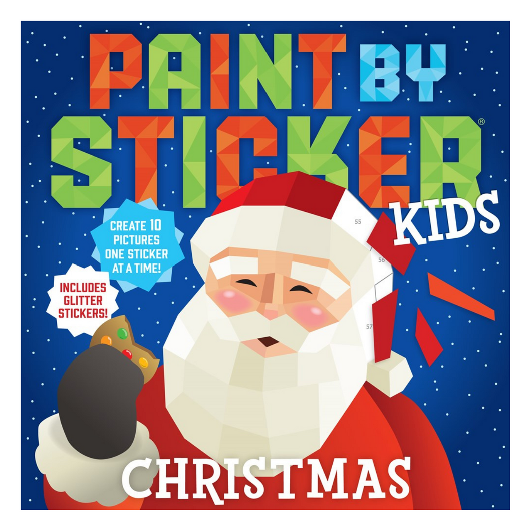Paint by Sticker Kids: Christmas