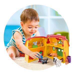 Playmobil 123 Take Along Farm with Shape Sorter