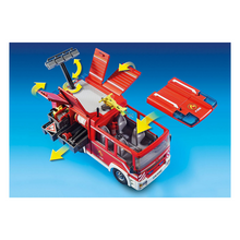 Load image into Gallery viewer, Playmobil Fire Engine